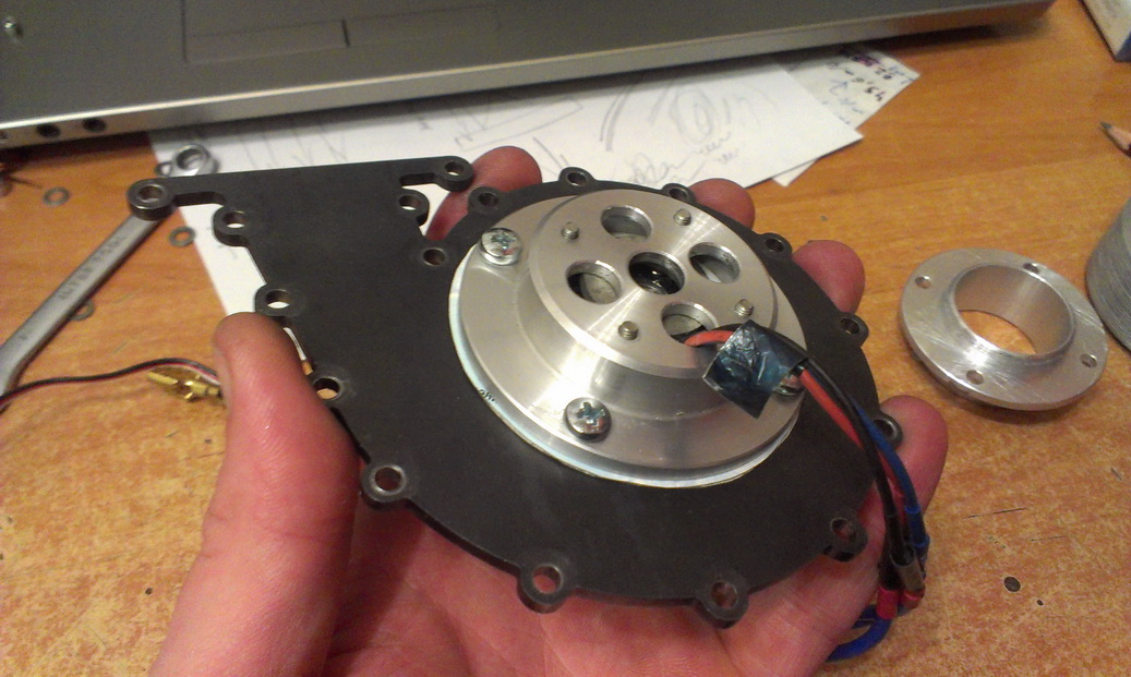 Центробежный дисковый вентилятор Теслы.