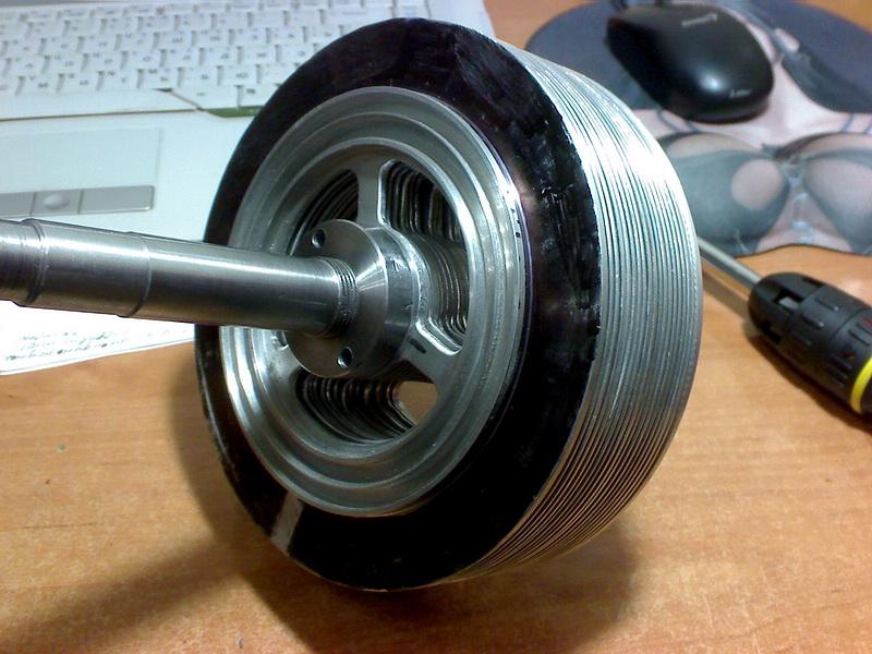 Дисковый насос Тесла. Дисковый ротор.