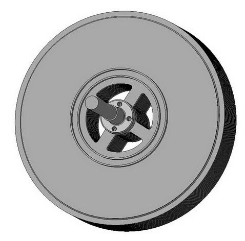 Ротор турбины Тесла